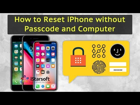 factory reset iphone 6 without itunes or password