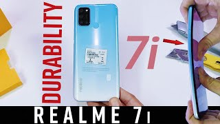 Realme 7i Durability Test - not Same as realme 7 Pro!? DROP TEST|BEND|WATERPROOF-SCRATCH FAIL|