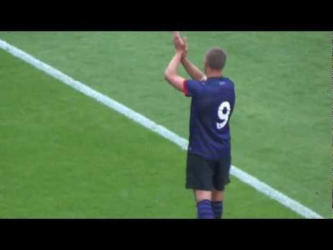 Abschied von Lukas Podolski nach 1. FC Köln - Arsenal London
