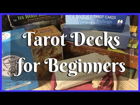 Top 15+ Tarot Decks For Beginners! - YouTube