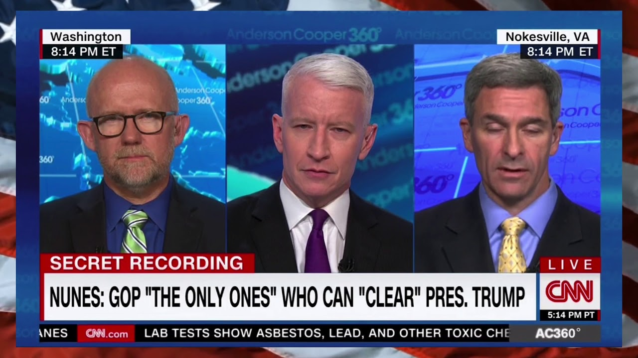 12a072c61 HEATED DEBATE  Rick Wilson 0WNS The Trump Supportin  Ken Cuccinelli on  Nunes SCANDAL