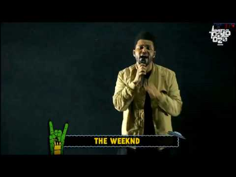 The Weeknd - Earned It - Lollapalooza Argentina 2017