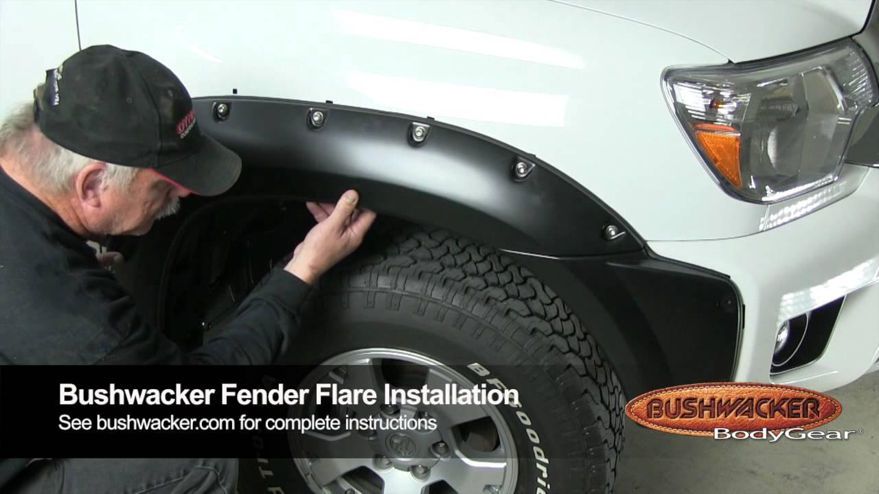 How To Install Fender Flares - PartCatalog com