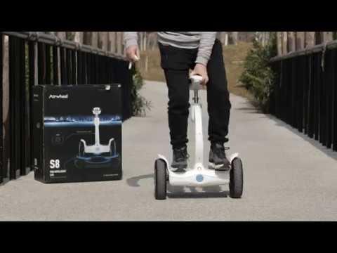 Giời thiệu xe điện cân bằng Airwheel S8