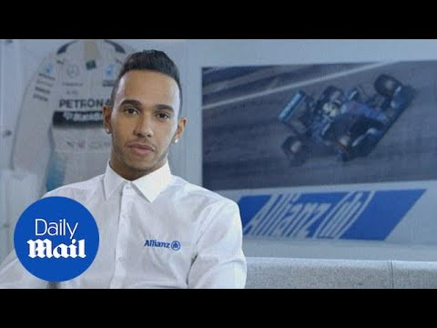 Lewis Hamilton previews the Chinese Grand Prix - Daily Mail