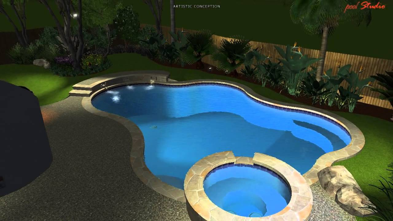 Custom Pool By Concepts Pete Ordaz