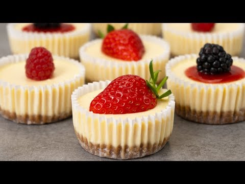 Easy Mini Cheesecakes Recipe