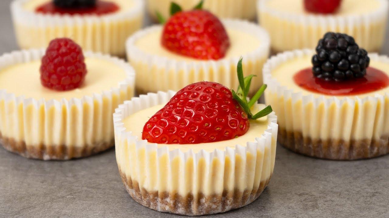 cheesecake i muffinsformar