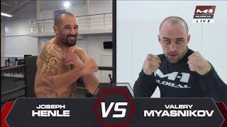 Джозеф Хенли vs Валерий Мясников, M-1 Challenge 88