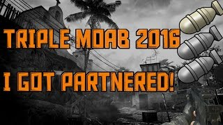 MW3 PC 2016 #1: Triple Moab On Mission (100 Kill game!) I'm Partnered?!