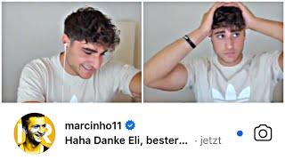 Eli schreibt Fußballprofis Insta DM's🔥(Kai Havertz, Ter Stegen..)🌝 | EliasN97 StreamHighlights