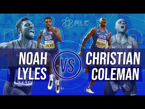 Noah Lyles vs Christian Coleman 100m Breakdown