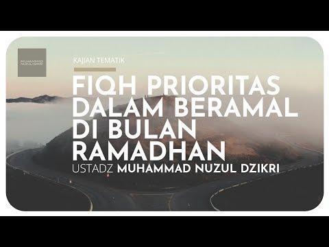 FIQH PRIORITAS DALAM BERAMAL DI BULAN RAMADHAN (Kajian Tematik)