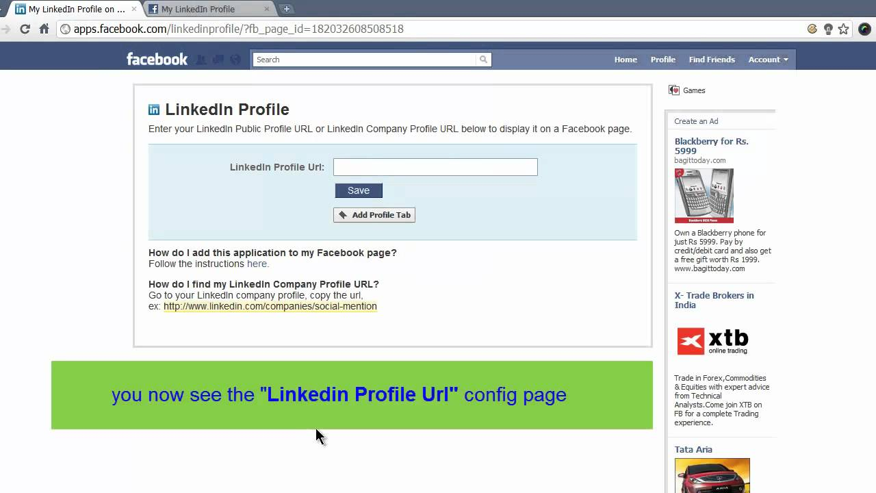 Facebook company profile - How To Add Linkedin Profile To Facebook Page_hd 1280x720 Mp4