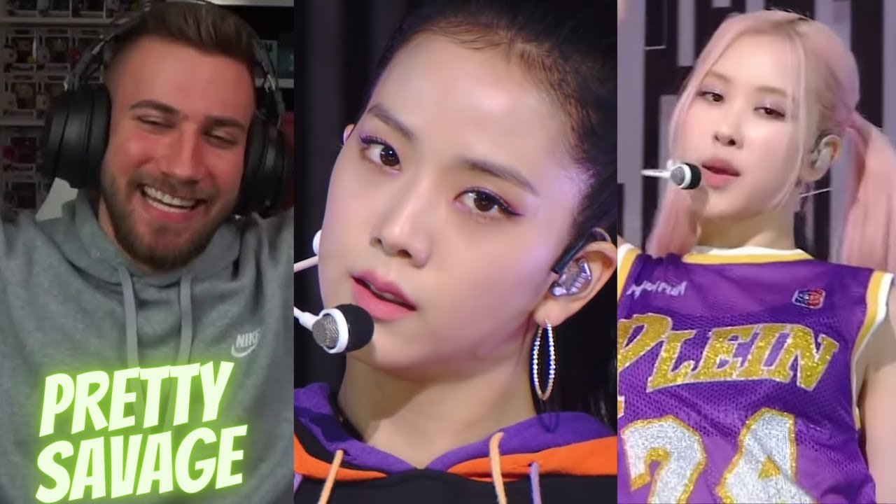 THE CHOREO 🤯😲 BLACKPINK - 'Pretty Savage' 1011 SBS Inkigayo - REACTION