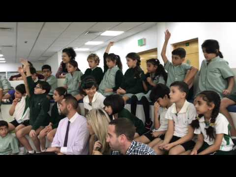Jumeira School Visit | Dubai United Arab Emirates | Astronaut Abby