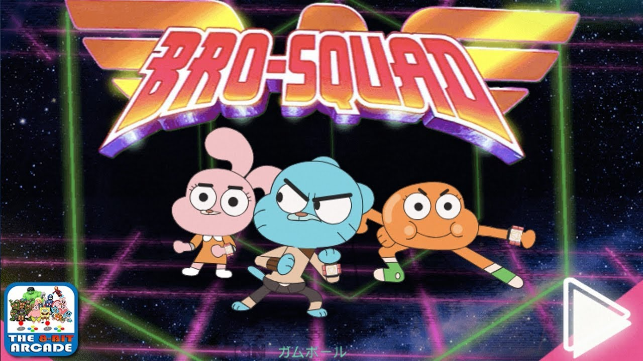 The Amazing World of Gumball: Bro-Squad – Transform into the Sibling Rangers (Cartoon Network Games)