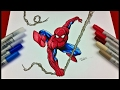 Drawing Spiderman  - Marvel Comics | TolgArt