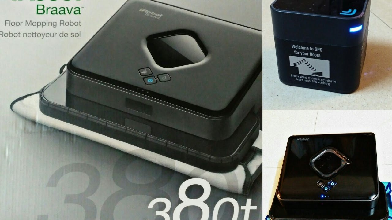 iRobot Braava 380t Review - YouTube