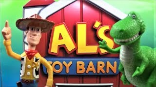 TOY STORY 2 AL'S TOY BARN BOXED SET OF 20 McDONALDS HAPPY MEAL MOVIE TOYS VIDEO REVIEW