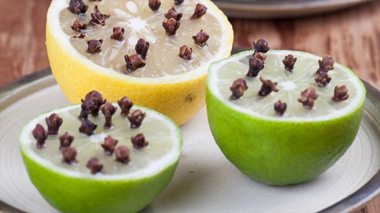 Cengkeh dan lemon bisa menjadi anti nyamuk