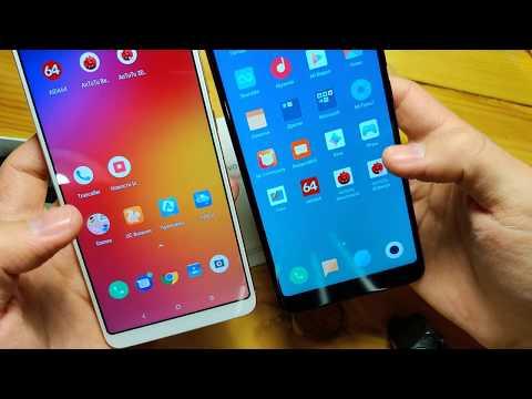 Lenovo K5 Pro распаковка рядом с Xiaomi Redmi Note 5