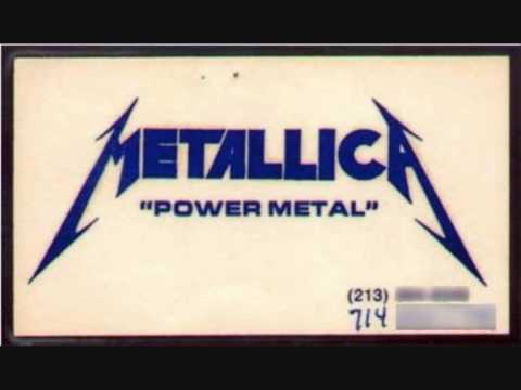 Metallica Hit the Lights Power Metal Version  1982