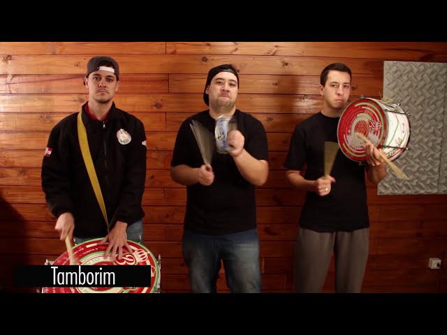Instrumentos e levadas básicas - DVD Ritmos e Batucadas (2015)