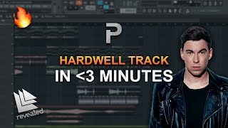 HOW TO MAKE: A Hardwell Track In 3 MINUTES