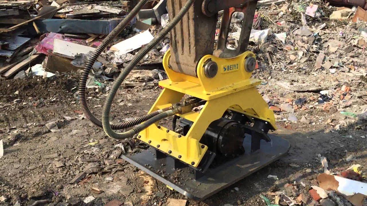 Excavator Attachments Vibratory Plate Compactor For Sale
