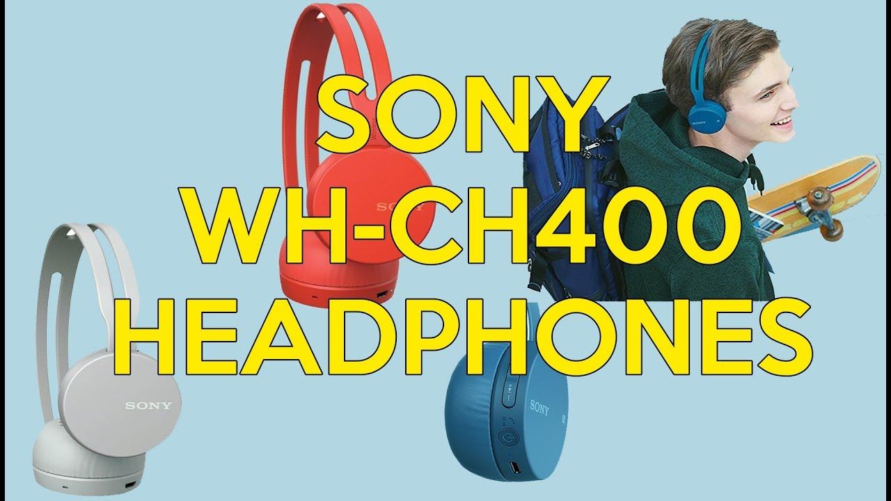38de9184779 AURICULARES - Sony W-CH400 | Unboxing - Review - Test | Wireless Headphones