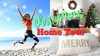 Christmas HOME TOUR! + Giveaway