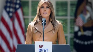 Melania Trump announces her 'Be Best' initiative for children