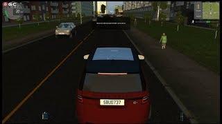 "City Car Driving ""2018 Range Rover Sport SVR"" Traffic Fast Driver Games FHD #8"