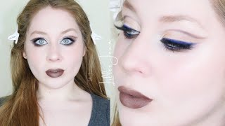 Capricorn Zodiac Urban Decay Soundtrack NAVY Blue Liner Makeup Tutorial 2021 | Lillee Jean