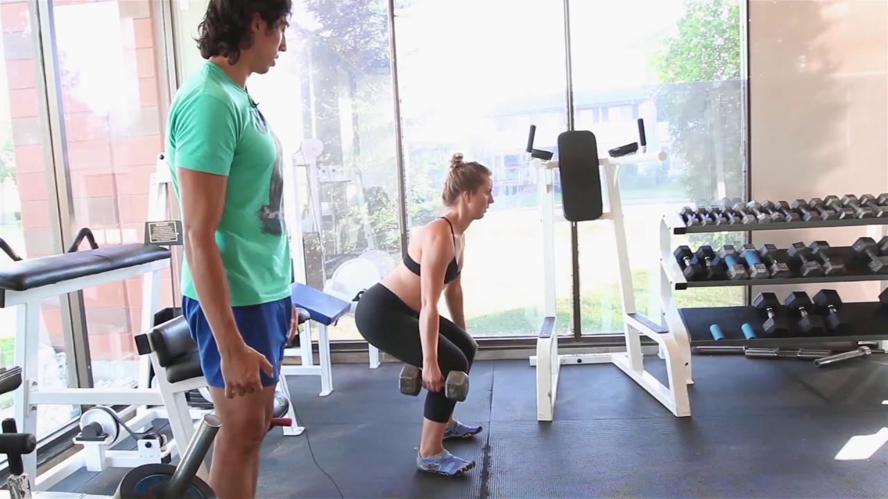 How to Do The Dumbbell Suitcase Romanian Deadlift