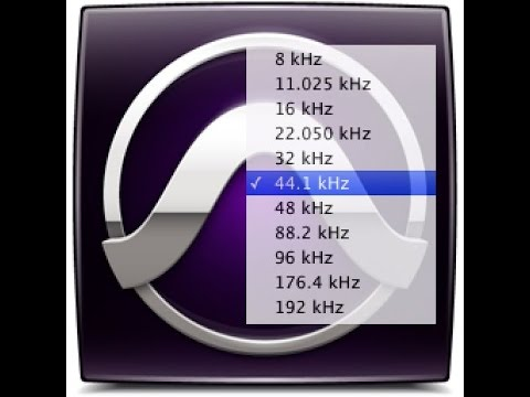 Sample Rate Conversion in Pro Tools
