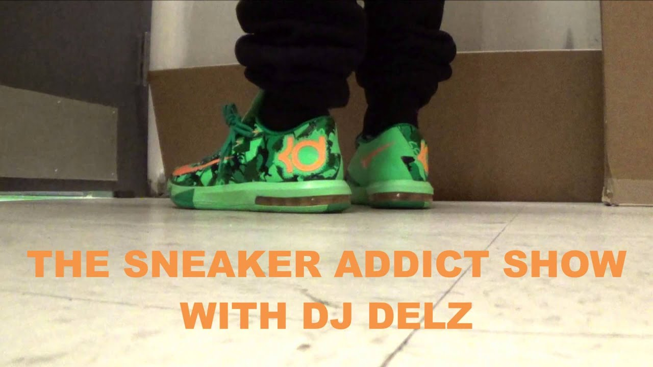 2014 Nike KD 6 VI Easter Camo Sneaker Review + On Feet With Dj Delz -  YouTube