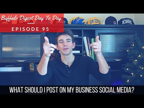What Should I Post On My Business Social Media? - Content Marketing