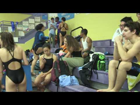 Raiders (Eleanor Roosevelt High School) Swim Meet Feb 2017