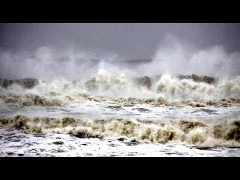 20 Foot Tsunami Wave Imperils Indonesia, Medi-Cyclone Pummels Greece, Polar Ice Sheets Turn Pink