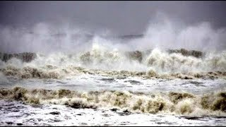 20 Foot Tsunami Wave Imperils Indonesia, Medi-Cyclone Pummels Greece, Polar Ice Sheets Turn Pink