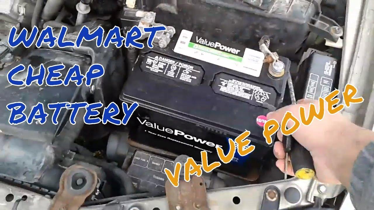 Walmart Cheap Battery Youtube