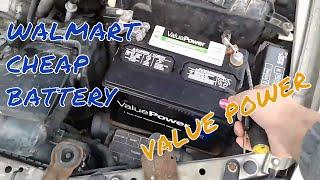 Walmart cheap battery test
