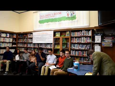 MHS - WTP Discussion at Belmar Library