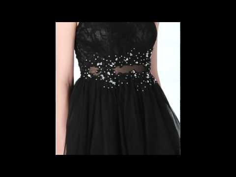 short/mini-black-lace-net-homecoming-dress-&-prom-dress---hebeos-2017