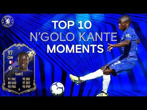 N'Golo Kante's Top 10 Chelsea Moments | FIFA 20 TOTY Midfielder
