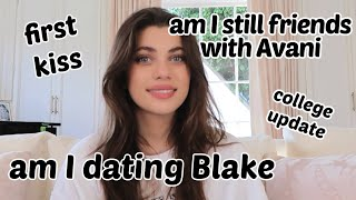 First Kiss, Boyfriends, Fake Friends *Q&A* | Amelie Zilber