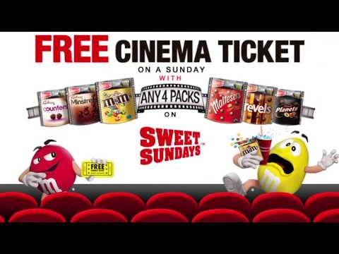 Mars Sweet Sundays Cinema Promotion 2017 - The Sequel