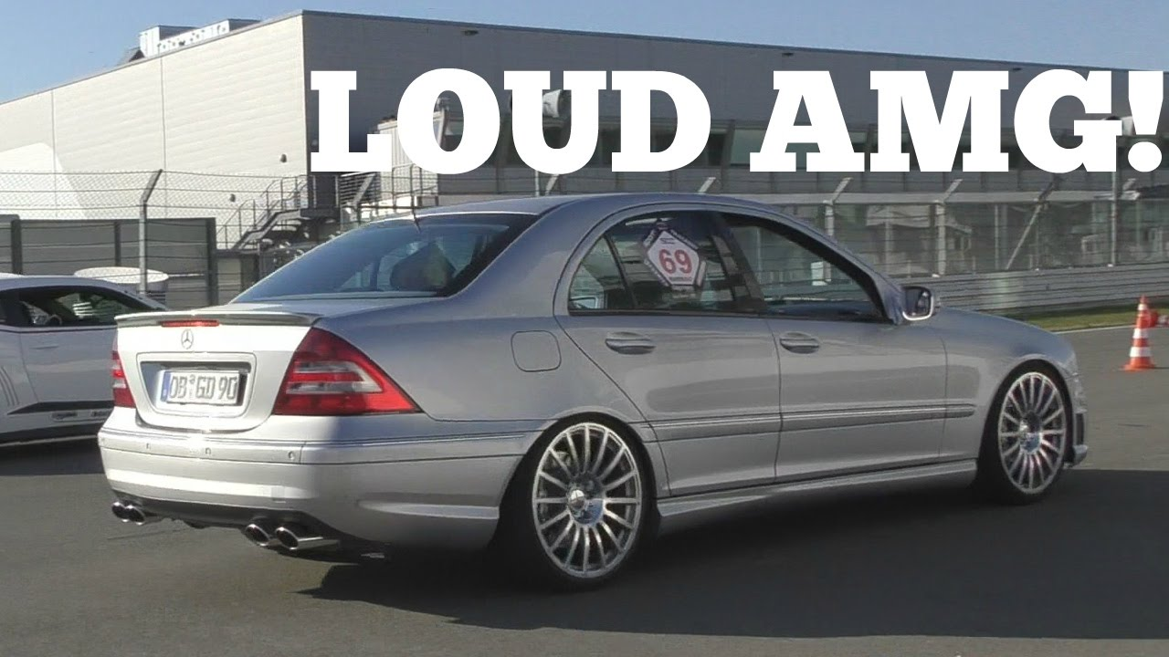 615HP Mercedes C55 AMG SUPERCHARGED SOUNDS!